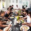 Gemeinsames Teamfrühstück*
